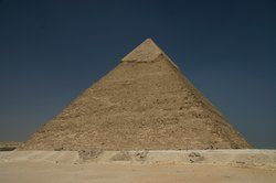 The impressive Pyramid of Khafre
