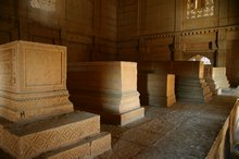 Some of the tombs at Makli Hill