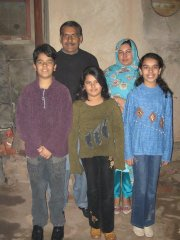 Mumtaz and his family