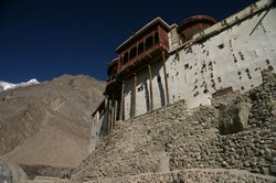 The castle of Baltit sits proudly in the Hunza valley