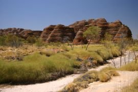 Striped domes of the Bungle Bungles