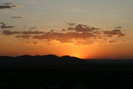 Sunset from Kelly's Knob, Kununurra