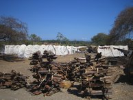 Large IDP (Internally Displaced People) camps