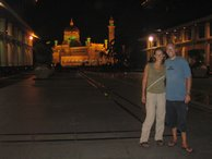 An evening site seeing tour round the city of Brunei