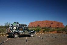 Australia's central rock