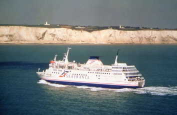 Ferry at Dover